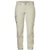 Fjällräven KARLA ZIP-OFF MT TROUSERS Naiset - LIGHT BEIGE