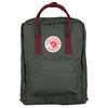 Fjällräven KÅNKEN Unisex - FOREST GREEN-OX RED