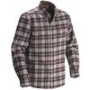 Fjällräven DUCK SHIRT Miehet - BLACK BROWN