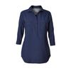 Royal Robbins BUG BARRIER EXPEDITION TUNIC LONG SLEEVE Naiset - DEEP BLUE