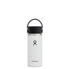 Hydro Flask WIDE MOUTH FLEX SIP 473ML - WHITE