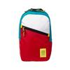 Topo Designs LIGHT PACK Unisex - WHITE/RED/TURQUOISE