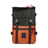 Topo Designs ROVER PACK Unisex - BLACK/CLAY