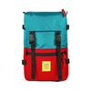 Topo Designs ROVER PACK Unisex - TURQUOISE/RED