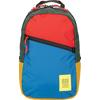 Topo Designs LIGHT PACK Unisex - BLUE/RED/FOREST