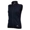 Warmpeace TRAILMARK LADY POWERSTRETCH VEST Naiset - BLACK