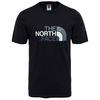 The North Face M S/S EASY TEE Miehet - TNF BLACK