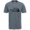 The North Face M S/S EASY TEE Miehet - TNF MEDIUM GREY HEATHER (STD)