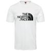 The North Face M S/S EASY TEE Miehet - TNF WHITE