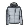 Marmot GUIDES DOWN HOODY Miehet - GREY STORM/DARK STEEL