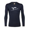 Icebreaker MENS 200 OASIS LS CREWE FOX JUMP Miehet - MIDNIGHT NAVY